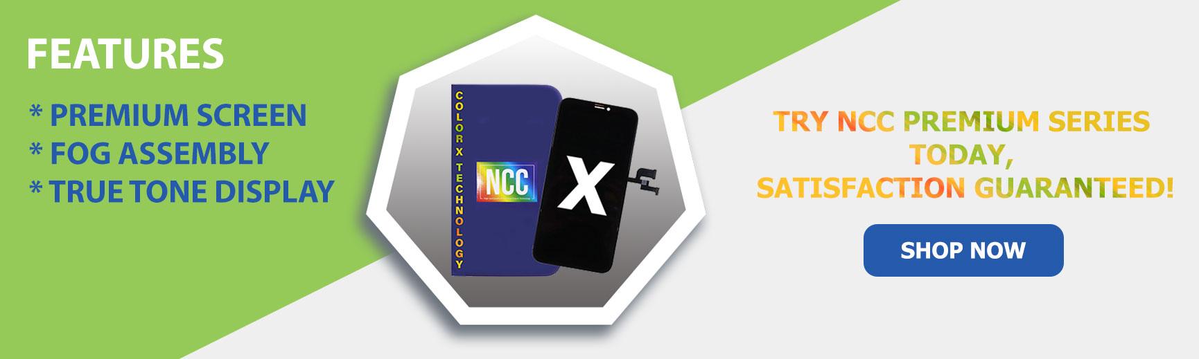 NCC Premium Screens