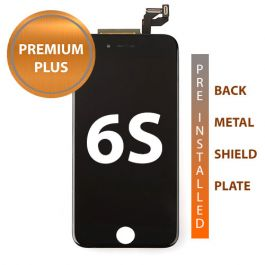 LCD Display Assembly with Back Plate for iPhone 6S (Black)