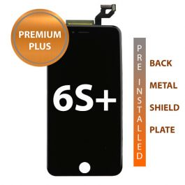iPhone 6s Plus Premium Plus Display Assembly with Back Plate - Black