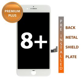 LCD Display Assembly for iPhone 8 Plus Premium Plus (White)