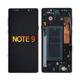 LCD Display Assembly with Frame for Galaxy Note 9 (Midnight Black)