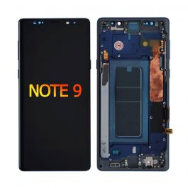 LCD Display Assembly with Frame for Galaxy Note 9 (Ocean Blue)