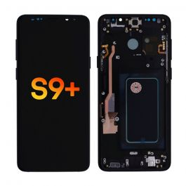 LCD Display Assembly with Frame for Galaxy S9+ (Midnight Black)