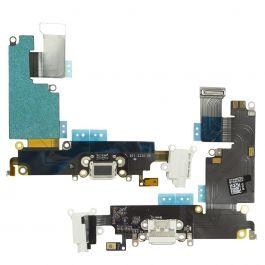 Charging Port Flex for iPhone 6 Plus (White)