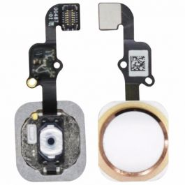 Home Button Flex for iPhone 6S Plus (Rose Gold)