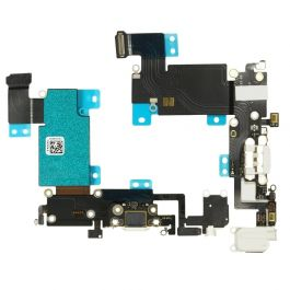 Charging Port Flex for iPhone 6s Plus (White)