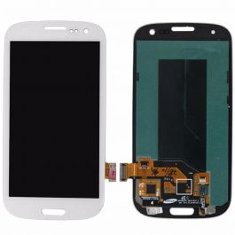 LCD Display Assembly for Galaxy S3 (White)