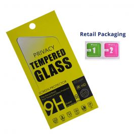 Privacy Tempered Glass for iPhone X / iPhone XS / iPhone 11 Pro