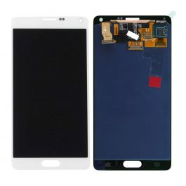 LCD Display Assembly for Galaxy Note 4 (White)
