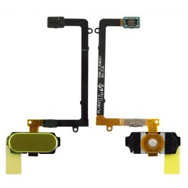 Home Button Flex for Galaxy S6 Edge (Gold)