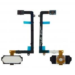 Home Button Flex for Galaxy S6 Edge (White)