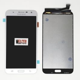 LCD Display Assembly for Galaxy J7 Perx (Silver)