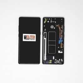 Samsung Galaxy Note 8 LCD With Touch & Frame - Black