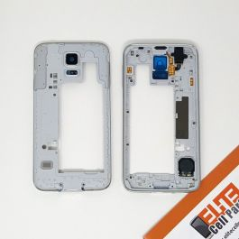 Back Frame for Samsung Galaxy S5 (Silver)