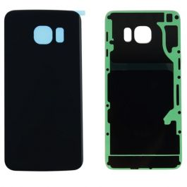Back Door for Galaxy S6 Edge (Blue / Black Sapphire)