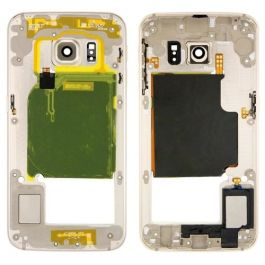 Bezel Frame for Samsung Galaxy S6 Edge (Gold)