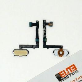 Samsung Galaxy S6 Edge Plus Home Button Flex - Gold