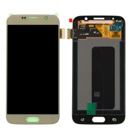 Samsung Galaxy S6 Display Assembly (LCD and Touch Screen) - White Pearl