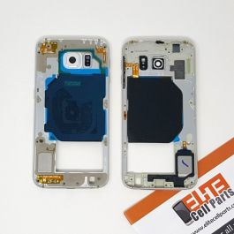 Samsung Galaxy S6 Middle Frame - White
