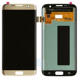 LCD Display Assembly for Galaxy S7 Edge (Gold Platinum)