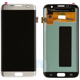 Samsung Galaxy S7 Edge Display Assembly (LCD and Touch Screen) - Silver Titanium
