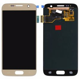 Samsung Galaxy S7 Display Assembly (LCD and Touch Screen) - Gold Platinum
