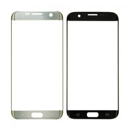 Samsung Galaxy S7 Edge Front Outer Glass Lens - Silver