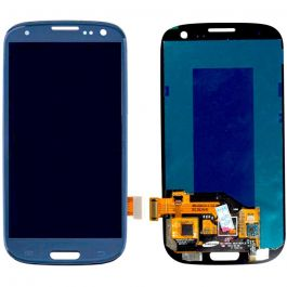 LCD Display Assembly for Galaxy S3 (Blue)
